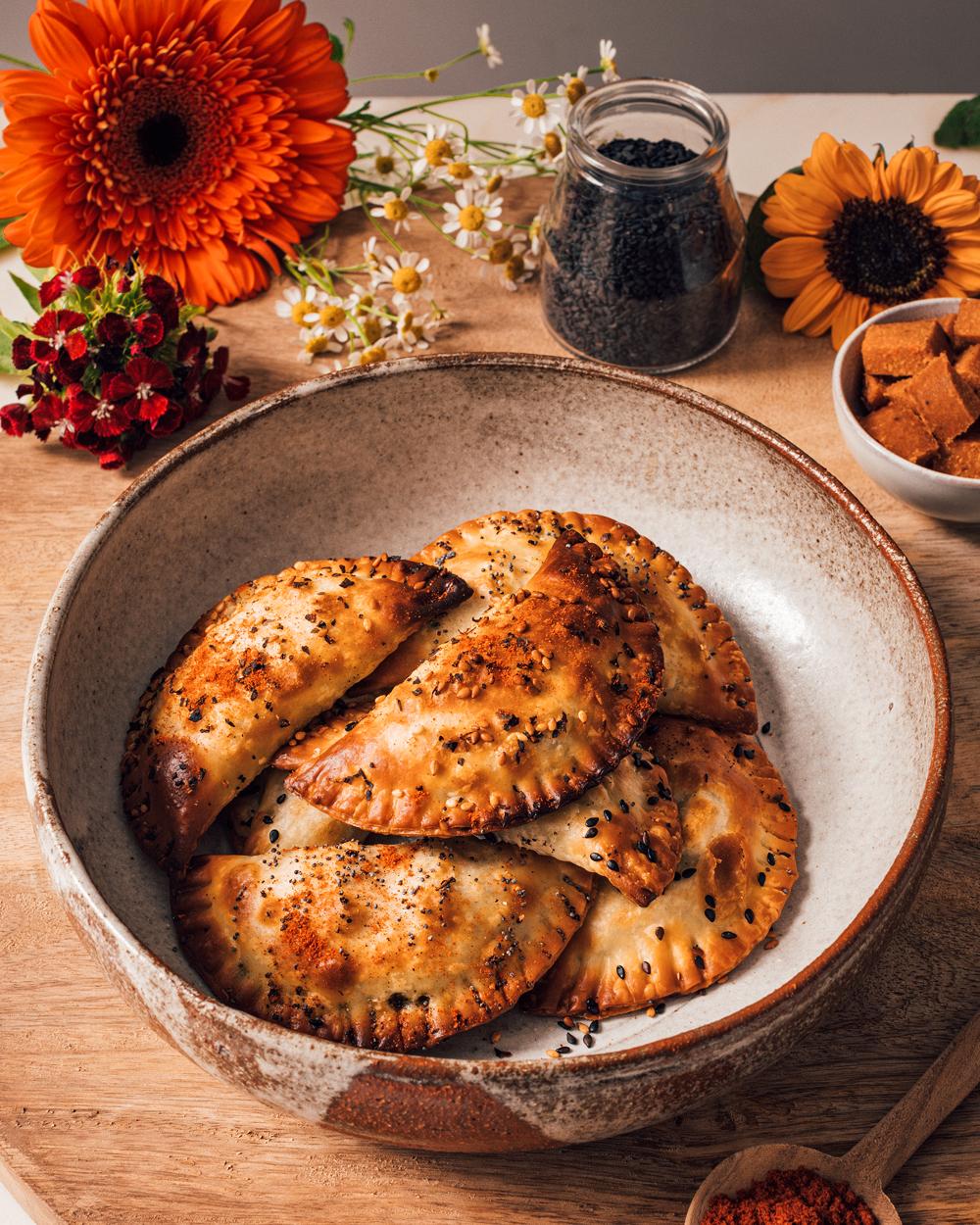 Empanadillas con Calabizo al horno