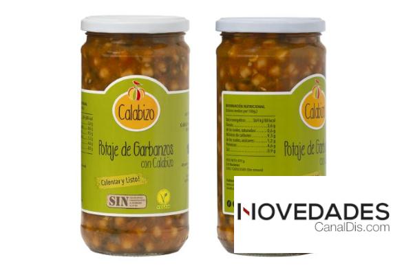 El primer potaje de garbanzos vegano, saludable y listo para comer se elabora en Galicia