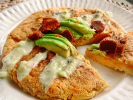 2020-05-04 tortilla vegana de boniato con Calabizo Anne Eatsgreen